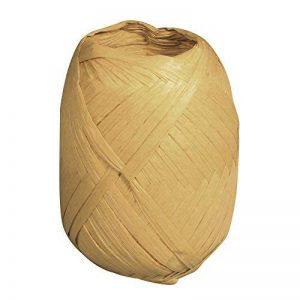 Rayher Hobby 52002505 fibre de bois – 100% fil en raphia naturel – 75 m de longueur – parfait pour toutes sortes de décorations nature – accessoire de décoration pratique – couleur : nature de la marque Rayher Hobby image 0 produit