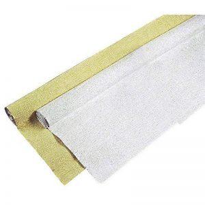 Rayher Hobby 81199616en aluminium rouleau de papier crépon, 250x 50cm, Or, 505x 125x 6,5cm de la marque Rayher Hobby image 0 produit