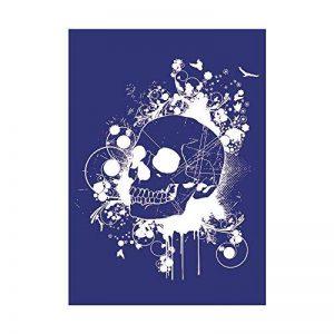 Rayher Hobby Pochoir Skull A4 Pochoir spécial textile + raclette de la marque Rayher Hobby image 0 produit