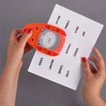 Rayher perforatrice fantaisie – perforatrice ronde de ø 3.81cm (1,5) – perforatrice scrapbooking idéale pour les loisirs créatifs – orange de la marque Rayher Hobby image 3 produit
