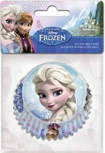 Reine des neiges 8011632 Set 60 Caisse Cupcake Papier Bleu 13 x 10 x 4,5 cm de la marque Reine des neiges image 0 produit