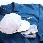 Repositionnable sur dévidoir plastique jetable pour textile brother p-touch 1830 vP bleu sur blanc 12 mm/lanière de rangement pour vêtements pour 1830VP, largeur 12 mm de la marque Brother image 1 produit