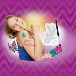 Revell My Arts - 30502 - Accessoire Pour Déguisement - Tatouage Ephémère - Glitter Tatous de la marque Revell Ag (Germany) image 1 produit
