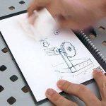 Rocketbook Everlast Cahier/Agenda intelligent réutilisable - Grande format (A4/Letter) - Spirales Bloc Note - n'achetez plus jamais un autre cahier - Stylo gratuit de la marque Rocketbook image 3 produit