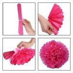 rose en papier de soie TOP 12 image 1 produit