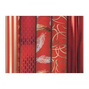 Rouleau de papier cadeau Premium Rouge, 80 g/m², 2m x 0,70m - Lot de 30 de la marque Maildor image 0 produit