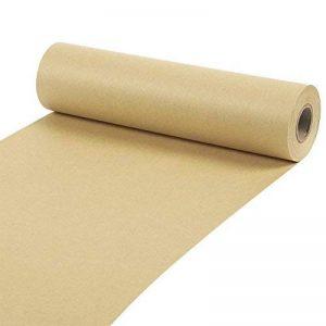 Rouleau de papier Kraft–pour l'artisanat, cadeaux, emballage, Expédition–100mètres de long, Marron, 25,4x 3048cm de la marque Juvale image 0 produit