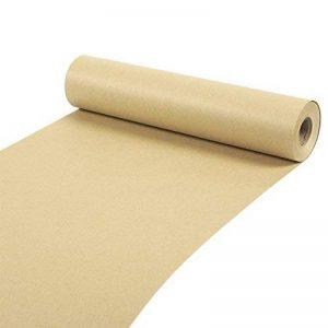 Rouleau de papier Kraft–pour l'artisanat, cadeaux, emballage, Expédition–100mètres de long, Marron, 30,5x 3048cm de la marque Juvale image 0 produit