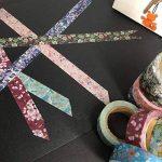 Rouleau de ruban de masquage adhésif de 10m de long, en tissu à motif floral pour arts et travaux manuels, projets de bricolage, scrapbooking, calendrier et emballage cadeau Floral Patterns 2 de la marque Benvo image 4 produit