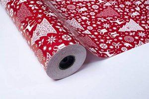 ROULEAU PAPIER CADEAU 70 CM X 100 M DESIGN NOËL de la marque PAKOT S.A image 0 produit