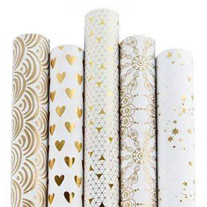 rouleau papier emballage cadeau TOP 12 image 0 produit