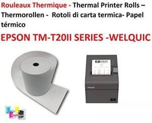 rouleau papier pour imprimante thermique TOP 13 image 0 produit