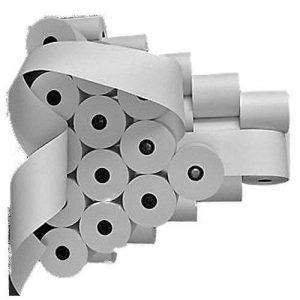 Rouleaux de papier pour calculatrice casio fR 5200 farbbandfabrik 57 mm x 65 mm x 40 m coeur diamètre : 12 mm, blanc, sans bois de la marque Farbbandfabrik Original image 0 produit