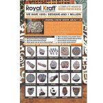 Royal Kraft Original Forme Floral et Mandala Bois Blocs Pour Impression (Set de 5) de la marque Royal Kraft image 3 produit