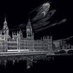 Royal & Langnickel FAM-1 Gravure d'art argent Taille A3 Big Ben/Le Parlement de la marque Royal & Langnickel image 1 produit