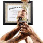 RPJC Cadre de Document/Certificat Cadres fait de Bois Massif en Verre Haute Définition et Certificats d'affichage 21.6x28 cm Cadre de Papier Standard Marron de la marque RPJC image 4 produit