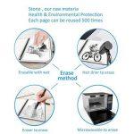 """RUBbook Cahier 3.0, Réutilisable à Spirale Ordinateur Portable Effaçable Carnet A5, 5.8 """"x8.2""""(Noir) de la marque RUBbook image 2 produit"""
