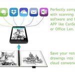 """RUBbook Cahier 3.0, Réutilisable à Spirale Ordinateur Portable Effaçable Carnet A5, 5.8 """"x8.2""""(Noir) de la marque RUBbook image 3 produit"""