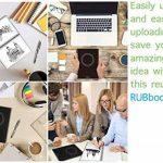 """RUBbook Cahier 3.0, Réutilisable à Spirale Ordinateur Portable Effaçable Carnet A5, 5.8 """"x8.2""""(Noir) de la marque RUBbook image 4 produit"""