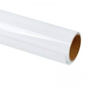 RUSPEPA 30.48Cm Vinyle De Transfert De Chaleur Pour Les T-Shirts De Bricolage, Presse De Chaleur De Vêtement De Métier - Rouleau De 92Cm (Blanc) de la marque RUSPEPA image 0 produit