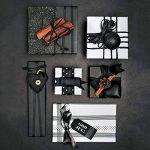 RUSPEPA Rouleau De Papier Kraft Noir, 122 Cm X 30 M de la marque RUSPEPA image 3 produit