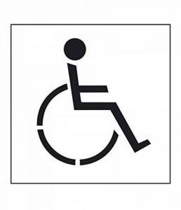 Rust-Oleum V2510kit d'outils Pochoir, des Parking handicapés, réutilisable et durable, 90cm x 80cm, Blanc cassé de la marque RUST-OLEUM image 0 produit