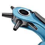 S&R Pince Perforatrice pour Cuir Cintures Bracelets / FABRICATION ALLEMANDE / Pince Emporte Piece avec 6 Poinçons : 2 - 2,5 - 3 - 3,5 - 4 - 4,5 mm. de la marque S&R image 4 produit
