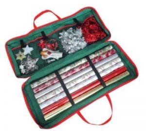 Sac de rangement avec organiseur pour décorations et emballages de Noël de la marque MTS image 0 produit
