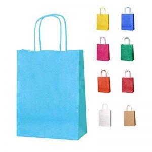 sac papier kraft couleur TOP 2 image 0 produit