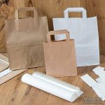 Sacs en papier grand format écologiques Kaufdichgrün I Sacs en papier pour cadeaux biodégradables et compostables I 250 x sacs en papier marron 22 x 10 x 28 cm de la marque kaufdichgruen image 4 produit