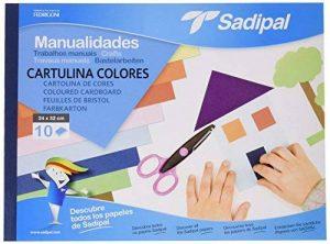 Sadipal 5980 Bloc de travaux manuels 10 feuilles de papier bristol de la marque Sadipal image 0 produit