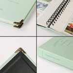 SAIKA 120 Pockets PU Leather Binder Coil Photo Album for 3-inch Fujifilm Instax Films, Fuji Mini 8 8+ Mini 9 70 90 25 50s 7s Photo Book Ticket Album Guest Book (Pink) de la marque SAIKA image 2 produit