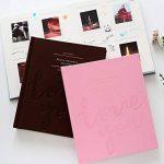SAIKA Cadre Tissu Cousu en Similicuir Cadre Coque Livre Album pour Impressions 7,6cm–Love You de la marque SAIKA image 2 produit