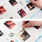 SAIKA Cadre Tissu Cousu en Similicuir Cadre Coque Livre Album pour Impressions 7,6cm–Love You de la marque SAIKA image 3 produit