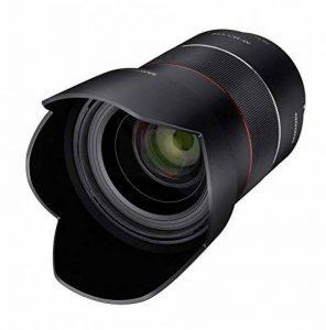 samyang Objectif 35/1,4DSLR autofocus Sony E plein format photo Objectif lichs tärke F1.4, objectif grand angle Noir de la marque Samyang image 0 produit
