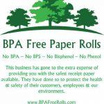 Sans BPA TPE Ingenico iWL220Cartes de crédit Rouleaux (50rouleaux par boîte) 57x 40mm Rouleaux de caisse pour imprimante thermique sans BPA BPC Bpf–gratuit–BPS gratuit–gratuit de Phénol 57 mm blanc de la marque BPA Free Paper Rolls image 2 produit