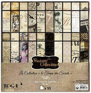 scrapbooking vintage TOP 9 image 0 produit