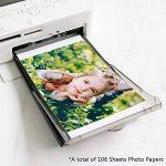 Selphy Encre et papier KP-108IN Papier Photo, Compatible avec Imprimante Canon Selphy CP1200 CP1300 CP1000 CP800 CP810 CP910(3 Cartouche d'encre, 108 feuilles de papier) 100 x 148mm Carte Postale de la marque Wonfoucs image 2 produit