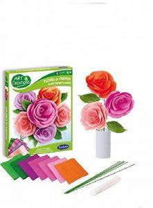 Sentosphère - 3902001 - Kit d'Activité - Fleurs en Crépon Bouquet Champêtre de la marque Sentosphère image 0 produit