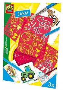 Ses - 00351 - Loisirs Créatifs - Pochoirs - Thème Ferme de la marque Ses image 0 produit