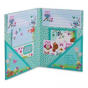 Set de papier à lettres 'Animaux des bois - Papeterie pour enfant - Set de Ecriture pour les Fille et garcon - Lucy Locket de la marque Lucy Locket image 0 produit