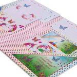 Set de papier à lettres magique licorne - Papeterie pour enfant - Set de Ecriture pour les Fille et garcon - Lucy Locket de la marque Lucy Locket image 4 produit