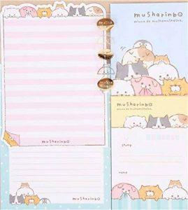 Set de papiers à lettres avec des animaux, chats, phoques, pois + enveloppes de la marque Mind Wave image 0 produit