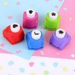 Shineus Lot de 10perforatrices pour papier et 2ciseaux de la marque image 2 produit
