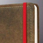Sigel CO639 Carnet de notes CONCEPTUM, 18,7 x 28 cm, ligné, couverture rigide, aspect cuir brun de la marque Sigel image 2 produit