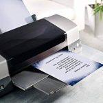 Sigel DP017 Papier à lettre de Noël, sapin et flocons de neige, 21 x 29,7 cm, 90g/m², blanc et bleu, 100 feuilles de la marque Sigel image 4 produit