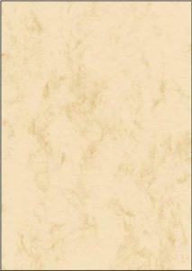 Sigel DP372 Papier à lettres, 21 x 29,7 cm, 90g/m², marbre beige clair, 100 feuilles de la marque Sigel image 0 produit