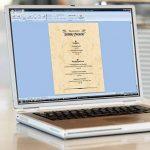 Sigel DP372 Papier à lettres, 21 x 29,7 cm, 90g/m², marbre beige clair, 100 feuilles de la marque Sigel image 1 produit