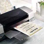 Sigel DP521 Papier à lettres, 21 x 29,7 cm, 185g/m², Parchemin, gris et rouge, 12 feuilles de la marque Sigel image 3 produit
