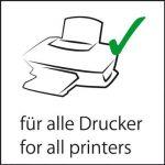 Sigel DP521 Papier à lettres, 21 x 29,7 cm, 185g/m², Parchemin, gris et rouge, 12 feuilles de la marque Sigel image 4 produit